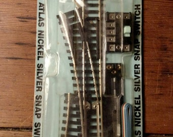 HO Scale Left Remote #850 Snap Switch/ Atlas Brand Railroad Trains/Hobby/classic