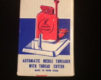 Automatic Needle Threader with Thread Cutter, Made in Hong Kong