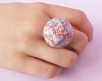 Pastel Candy Ring Cute Kawaii Japanese Style