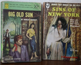 Paperback Mysteries - 1940s
