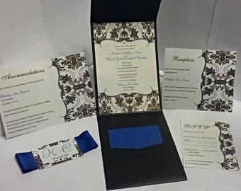 Damask Wedding Invitations
