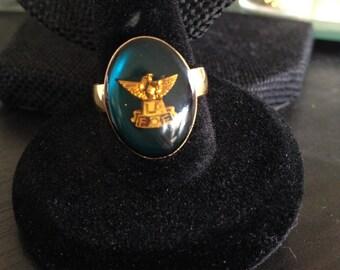 Vintage rings, Fraternal Order of Eagles Ring, Vintage FOE ring, Fraternal Order of Eagles Vintage Ring, FOE Ring, Vintage FOE Ring,