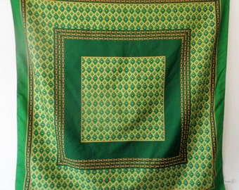 Codello scarf, Green Codello Scarf