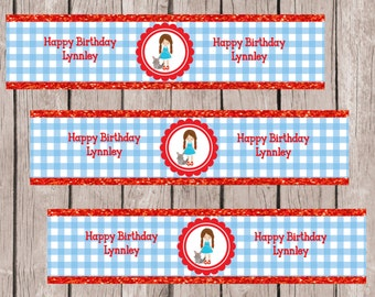 Wizard of Oz Water Bottle Labels, Wizard of Oz Labels, Wizard of Oz Stickers, Wizard of Oz Birthday Party, Wizard of Oz Bottle Labels,