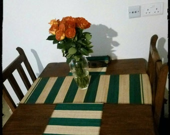 Handwoven Papyrus Table mats