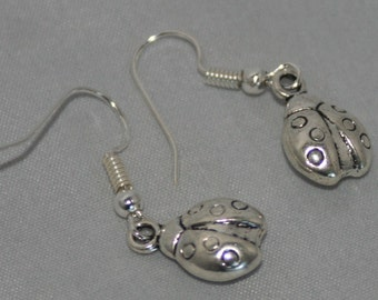 Special Price Silver Plated Jewelry Ladybird earrings