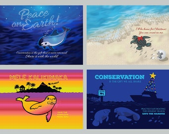 Conservation 24-Pack - Holiday Cards