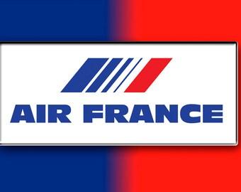 Air France Airlines Logo Fridge Magnet (LM14025)