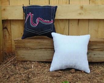 Jean Pocket Pillow