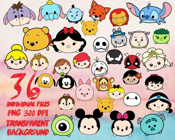 Disney Tsum Tsum Clipart 9: Disney Tsum Tsum Clip Art PNG Transparent 300dpi