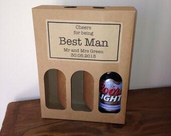 Wedding Gift Beer Box