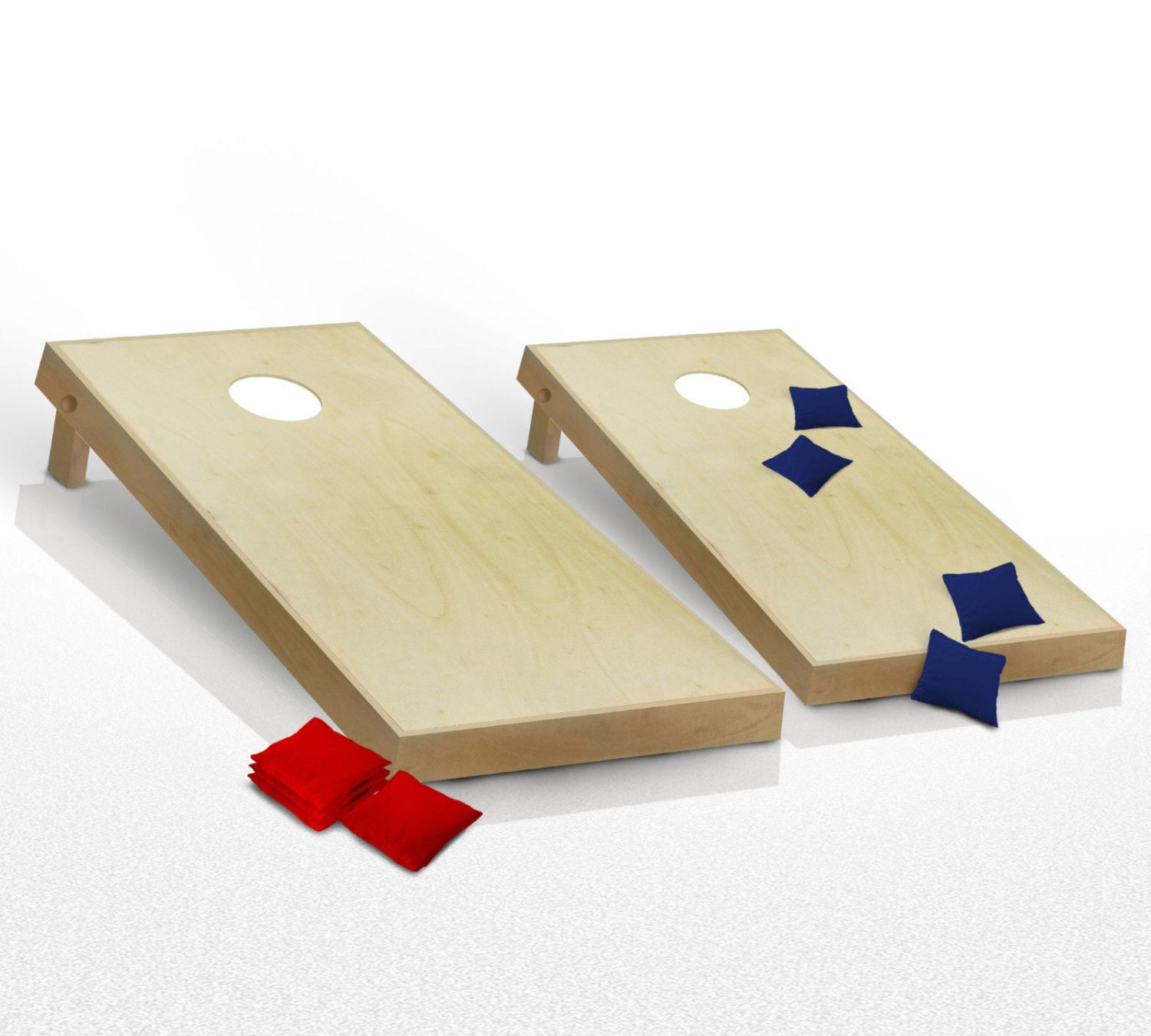 how to make bean bag toss game board