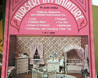 Nursery in Miniature Patterns and instructions