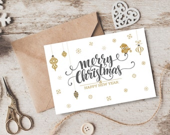 Printable Christmas Card