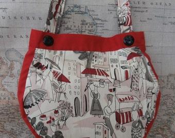 Parisien vintage styled handbag