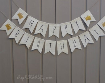 Where the Wild Things Are First Birthday Banner, 1st Birthday Banner, Where the Wild Things Are Shower Decor, Wild Things Birthday Banner