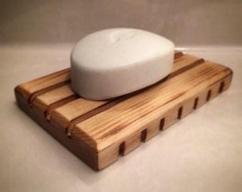Handmade Rustic Reclaimed Wood Soap Dish, Soap Holder