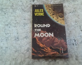 Science Fiction / Around the Moon By Author: Jules Verne