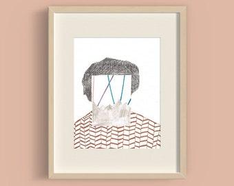 Faracio - Art printed illustration - A4