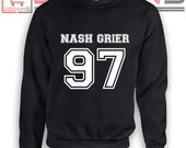 Custom Nash Grier Birthday Sweatshirts - Hooded ...