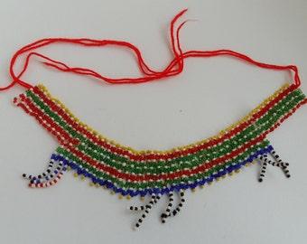 African seed bead chokers (5 designs - choose 1)
