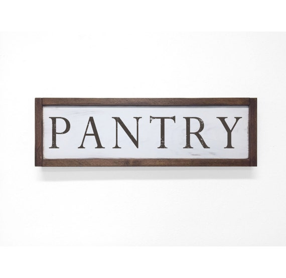 Rustic Kitchen Signs: Kitchen Sign Pantry Sign Rustic Kitchen Sign By