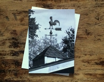 Weather Vane note card