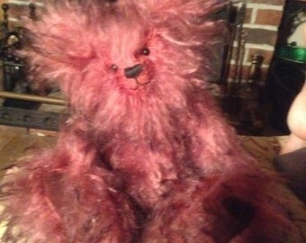 """Ruby Tuesday, a 14"""" hand made limited edition collectors' bear"""