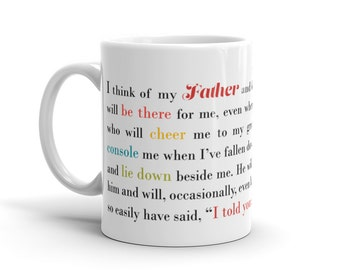 Gift for Father | Present for Dad | Gift for Dad | Father Birthday Present | Dad Present | Father Coffee Mug | Gift Under 20 | Birthday Dad