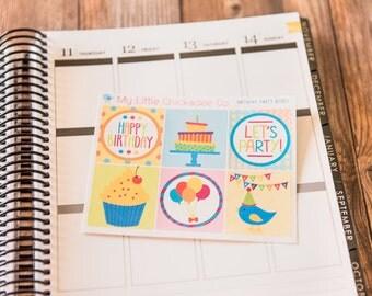 Decorative Boxes- Birthday Party
