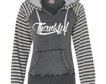Thankful Hoodie, Thankful Shirt, Fall Hoodie