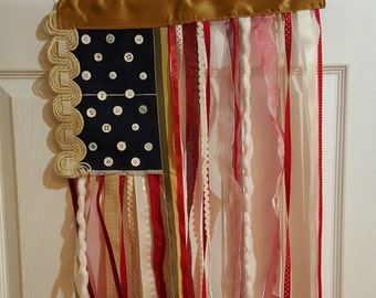Ribbon flag - Americana