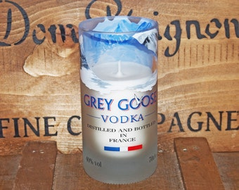 Grey Goose Vodka Candle