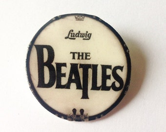 Beatles Drum Pin