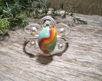 Custom Fused Glass Bracelet