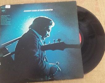 JOhnny Cash At San Quentin Touch My Vinyl Records CS 9827 LP Lps 33 33s album albums record records TouchMyVinyl