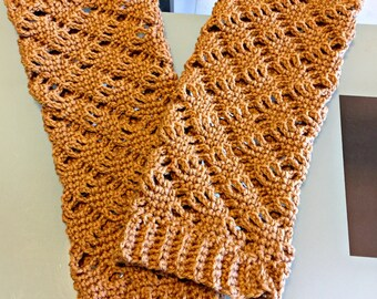 Lacy Leg Warmers - Handmade Crocheted leg warmers One Size fits most