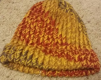 Fall colored hat