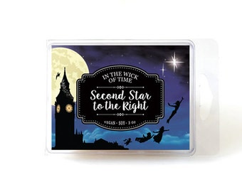 Second Star to the Right | Peter Pan Soy Vegan Wax Tart Melts |