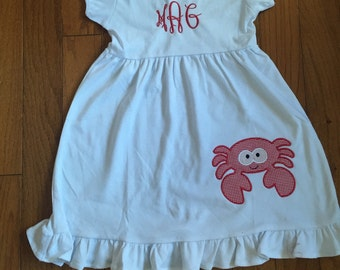 Crab Applique Dress
