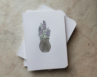 lilac notebooks   3 pack