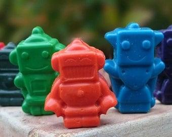 Robot crayons