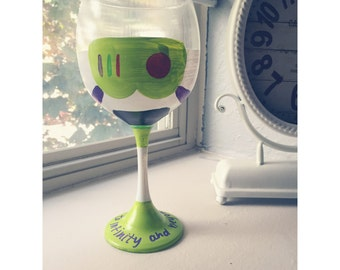 Buzz Lightyear (Toy Story) Wine Glass
