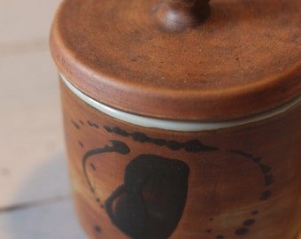 Vintage French Earthenware Pot