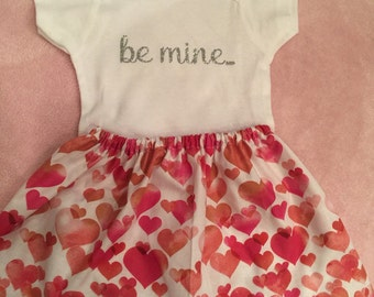 be mine shirt and skirt