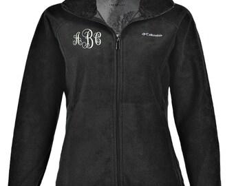 Monogrammed  Columbia Women's Dotswarm II Fleece Full-Zip Jacket Small Medium Large X-Large XX-Large Free Shipping!
