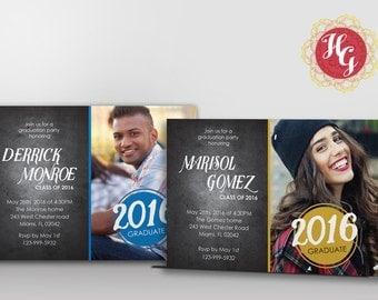 Graduation Invitation/Postcard {Graduation Announcement}