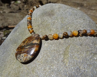 Necklace - Jasper