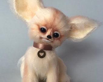 Amigurumi crohet mini fennec fox