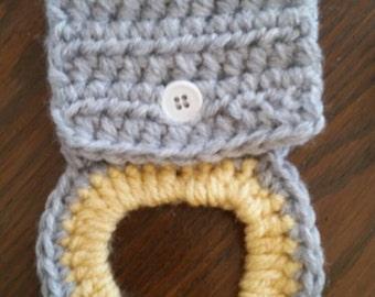 Crochet Tea Towel Holder